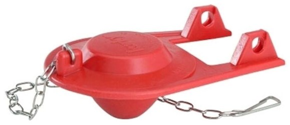 2001 Bp Korky Plus 2 Chlorazone Rubber Red Toilet Flapper CAT201,2001BP,20100400,C04016,999000033443,KTF,049057200193,