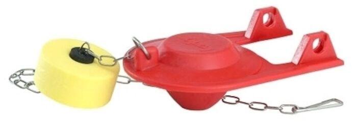 2004bp Korky Plus 2 Chlorazone Rubber Red Toilet Flapper CAT201,2004BP,049057101797,