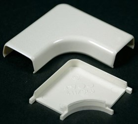 411 Nonmetallic Flat Elbow Ivory CAT733,411,78677605146,