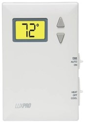Psd-011b Lux 1 Heat/1 Cool Heat Pump Non-programmable Thermostat CAT330L,PSD100,021079991013,L100,