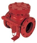 """159-02 4"""" Flanged Check Valve W/lever & Wgt CAT645,15902,106ALW,FCN,"""