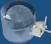 300delv1425 M&m 5 Steel Inline Damper