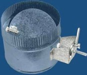 300delv1427 M&m 7 Steel Inline Damper