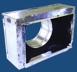 64110108 M&m 10 X 10 X 8 Steel R4 Insulated Register Box CAT342M,64110108,845927027033