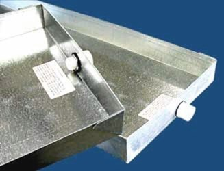 Dp-3636 M&m 36 X 36 X 2-1/2 Steel 26 Gauge Drain Pan With Pvc CAT342M,DP-3636,DRAIN PAN,DRAINPAN,36X36,36 X 36,946,DP3636,MMDP,DP3636,36X36,34241250,845927003532