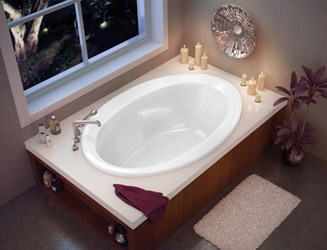 100021-000-001 Maax Twilight White 5 Ft Drop-in Bathtub CATMAX,100021-000-001,623163002041,