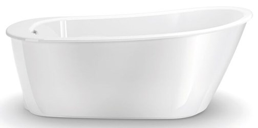 105797-000-002 Maax Sax White 5 Ft Freestanding Bathtub Above-floor Rough CATMAX,105797-000-002,623163610840,105797000002,MFGR VENDOR: MAAX,PRCH VENDOR: MAAX,