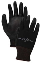 Bp1699 Magid Glove & Safety Roc Black Polyester Glove Size 9 CAT250GL,BG9,GLOVE,GLOVES,