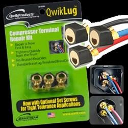 Qt2810 Q Qwiklug 2 Ft 10 Awg Terminal Repair Kit CAT817,QT2810,TLK,TRK,TSO36,MSP,