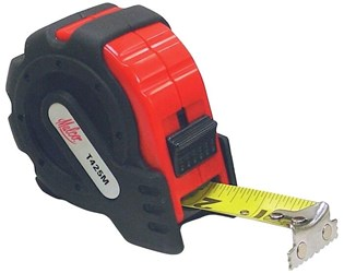 "T425m 1""x25 Malco Magnetic Tip Tape Measure CAT375,T425M,53071,T425M,37500520,68604653071"