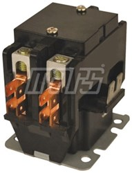 17327 Jard 2 Pole 30 Amps Inductive 40 Amps Resistive 240 Volts Ac At 50/60 Hertz Coil Contactor CAT385,17327,685744173274