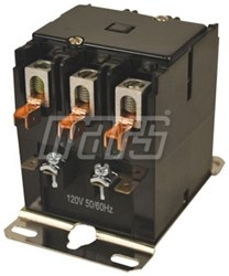 17436 Jard 3 Pole 40 Amps Inductive 50 Amps Resistive 120 Volts Ac At 50/60 Hertz Coil Contactor CAT385,17436,3P,40A,120V,685744174363