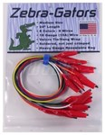 08573 Mars Zebra Gator 15 Amps 18 Gauge 24 In Test Lead CAT385,685744085737
