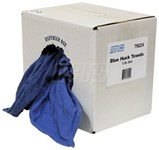79024 Mars 5lb. Bx New Blue Huck Towels CAT385,79024,685744790242