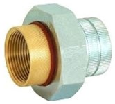 3/4 In Brass Unions Female Threaded X Brass Pipe Thread Lead Free CATMAT,DUN-EA04LF,082647092440,DUF