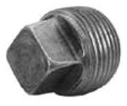 1/4 Black Steel Mercahnt Square Head Plug CAT442,00517276,BGB,BPLUGB,084832808188,01401,MPB01,45108,6460202,67671,521801HC,BM1120,BG14,BP14,082647032767