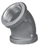 1 Black Malleable Iron 45 Elbow CAT442,00501874,B45G,084832806429,01065,45027,6180206,65185,520205HC,BM0030,B451,082647062436