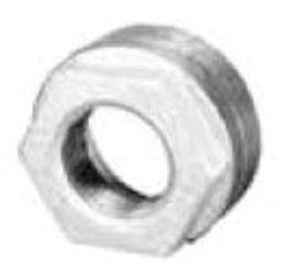 1-1/4 X 1/4 Galvanized Malleable Iron Hex Bushing CAT442,GBHB,44248,6780172,64514,082647065314,032888369900