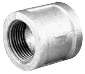 1-1/2 Galvanized Malleable Iron Banded Coupling CAT442,GCJ,44172,6060108,64417,511207HC,GM0630,082647065888