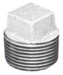 1 Galvanized Malleable Iron Square Head Plug CAT442,00547281,GA1P,GGG,GPLUGG,084832810426,02405,44280,6460106,64655,511805HC,10082647067629,ZMGPL05,GM1040,10082647067643,GG1,GP1,FMGC10,FMGP10,FMG,082647067646