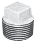 4 Galvanized Malleable Iron Square Head Plug CAT442,00547349,GGN,GPLUGN,084832810488,02411,44291,6460112,64661,GM1070,GG4,GP4,FMGC40,FMGP40,FMG,082647067707