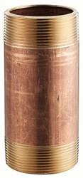 1/2 In X 7 In Red Brass Schedule 40 Nipples Male Threaded X Male Threaded Lead Free CAT443BR,BRND7,JONN23012,10671404071230,082647082380,717510230123