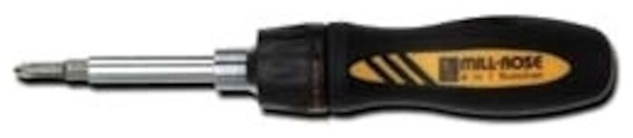 72148 Mill Rose Phillips/flat/nut Driver Screwdriver CAT514,72148,6N1,SCREWDRIVER,10038091721488,038091721481