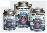 76001 Blue Monster 1/4 Pint Thread Sealant With Ptfe CAT514,76001,BM4,038091760015