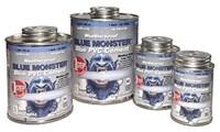 76030 Blue Monster 1/4 Pint Blue Pvc Cement CAT514,76030,038091760305,BM4