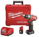 M12 D-w-o Fuel Cordless 1/2 12 Volts Drill Kit 2404-22 Milwaukee CATO532,2404-22,240422,2404-20,240420,MIL240420,M12V,045242268290,