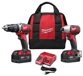 M18 Cordless 2 Tool Combo Kit 2697-22 Milwaukee CAT532,2697-22,045242207107