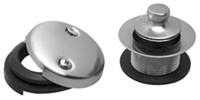 Mthtrlt/pvdbb Pvd Brushed Bronze 2 Hole Tub Drain Kit CATMOU,HTRLT,MTHTRLT,PVDBB,CBD,MCBD,