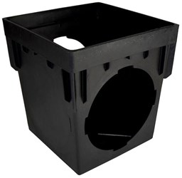1200 Nds 2 Openings 12-3/8 X 12-3/8 X 12-15/16 Poly Catch Basin CAT467N,1200,A6122,CB122,NP1250,NDS,NDSCB,NDS1203,NDS1204,052063012100,