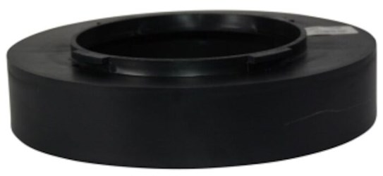 "8in Offset Universal Outlet Black Use W/9"" & 12"" Basins CAT467N,1889,1889,1889,052063043920,1889,46707857,05206361889,46707857,"