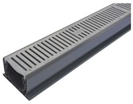 10 Speed Channel W/ Plastic Gray Grates
