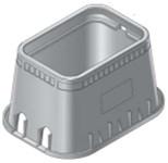 D1200-dub/o Nds 14 X 19 X 12 Polyolefin Meter Box CAT423B,D1200-DUB/O,052063046051,