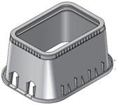 D1500-dudisb Nds 13 X 20 X 12 Polyolefin Meter Box Lid CAT423B,D1500-DUDISB,052063046938,