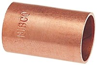 2-1/2 (2-5/8 Od ) Copper Coupling Without Stop Cxc Dom