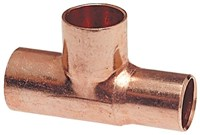 1/2 (5/8 Od ) Copper Reducer Tee Copper X Ftgxc Dom CAT451,611-2,CSTTD,33506,68576833506,W04106,CPT2,CPT-2,30039923335068,30039923335968,039923335067,685768210740,683264335066,