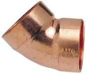2 (2-1/8 Od ) Copper Dwv 45 Dwv Elbow Cxc Dom CAT451,01300060,906,CW45K,46356,W07422,50039923463567,039923463562,685768211495,683264463561,