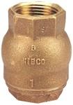 Nl9308c Nibco 1-1/2 Bronze Alloy Spring Fip X Fip Check Valve