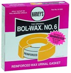 011305 Harvey Hv Bol-wax 6 2 In Urethane Urinal CAT195,BW6,HBW6,WAX,10078864113058,011305,10078864321507,HBW,WR,H6,078864113051