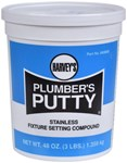 043050 Harvey Hv Plumbers Putty 3-lb Cup CAT195,043050,PPM,HPPM,PP3,PUTTY M,10078864430506,043050,1007886439,64430506,078864430509