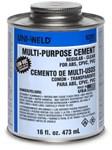 6246s Oatey Multi Purpose Regular Clear Cement Pt CAT468U,UA16,UMP16,620016,46810532,1PMC,083675062467