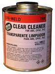 7356s Oatey Clear Cleaner In Can 1/2 Pt CAT468U,UC8,73008,46810562,12PCP,083675073562