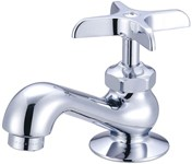 0239-ap Central Brass Polished Chrome 1 Hole Cross Handle Lf Basin Faucet CAT152,CEN239AP,0239AP,15207047,763439013330,30763439013331