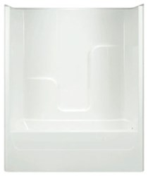 G6063tslwh Aquarius White 5 Left Hand Acrylic Tub/shower Combo CATPRA,G6063TSLWH,794644159148,TS6036,G6063,G6063TS