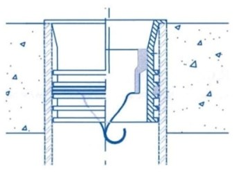 Tg34ip Provent Proset 3 Trap Guard Insert Fitting Fits Inside Of Cast Iron Or Plastic Pipe CAT425,TG34,TG34IP,42599145,TPN,TP4,TG4,TGN,