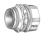 263 Peco 1-1/4 Zinc Emt, Concrete Tight, Rain Tight Conduit Connector CAT702,E263,PEC263,ARL823,078524412554