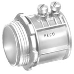 305 Peco 2 Zinc Emt, Concrete Tight Set Screw Conduit Connector CAT702,E305,EMAK,SSCNK,SSCN200,PEC305,ARL805,SSC2,078524413050